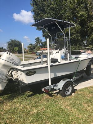 Dusky 17' johnson 90 hp for Sale in Hialeah, FL
