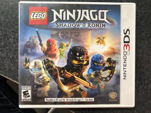 LEGO Ninjago Shadow Of Ronin game for Nintendo 3Ds for Sale in Griswold, CT