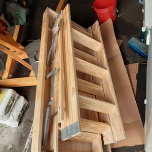 Attic Wood Ladder 8' To 10' for Sale in Tacoma, WA