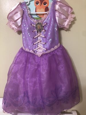 Rapunzel toddler costume size 4 for Sale in Orlando, FL