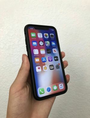 """iPhone X """"Space Gray"""" 64 GB for Sale in St. Louis, MO"""