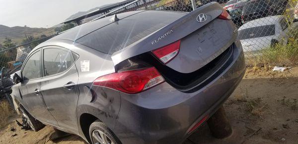 Hyundai elantra 2012 part out