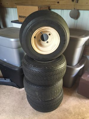 Golf cart tires and the rims for Sale in Grant-Valkaria, FL