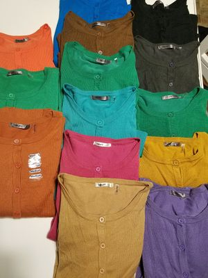 14 cardigans for Sale in Woodburn, OR