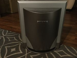 powered subwoofer model Sa251tnm sharper image for Sale in Hialeah, FL