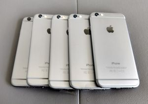Wholesale lot of 5 iPhone 6 16GB great condition for Sale in North Miami Beach, FL