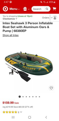 Seahawk 3 inflatable boat for Sale in Portland,  OR