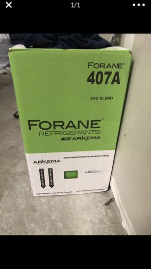 407A refrigerant for Sale in Downey, CA
