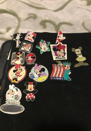 Disney pins Minnie Mouse (PRICES VARY BY PIN) for Sale in Rancho Cucamonga, CA