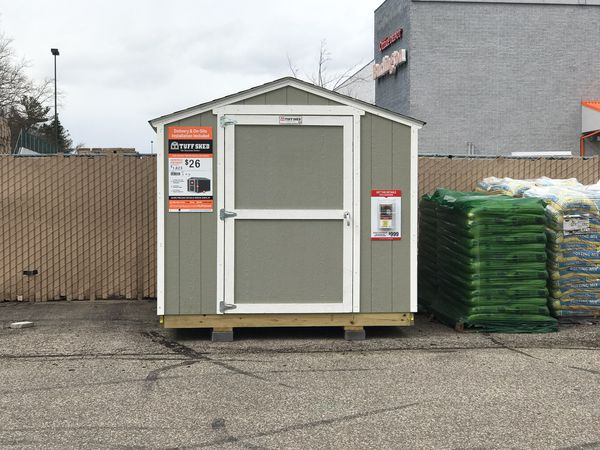 Sheds starting at $999 includes on-site installation