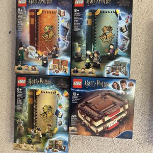 LEGO Harry Potter Hogwarts Herbology Potions Transfiguration Book Sets for Sale in Chicago, IL