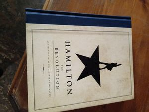 Hamilton the revolution great shape for Sale in Manvel, TX