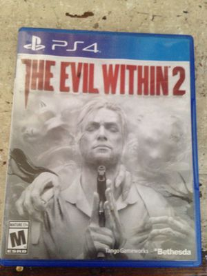 Ps4 game the evil within 2 for Sale in Hoquiam, WA