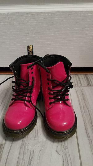 Doc Martens toddler girl size 10 color hot pink for Sale in Bryans Road, MD
