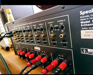 Speaker Craft 8 Channel/4 Zone Amplifier for Sale in Frisco, TX