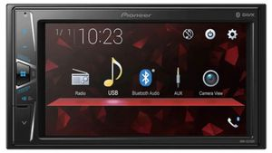 "Pioneer In-Dash Double-DIN Digital Media AV Receiver with 6.2"" WVGA Touchscreen Display, Built-in Bluetooth, and Direct Control for Certain Android P for Sale in Gardena, CA"