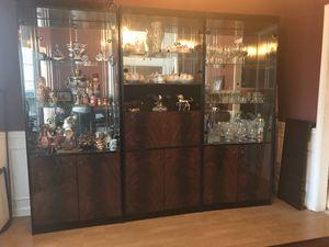 Nice Wood China Cabinet for Sale in Peachtree Corners, GA