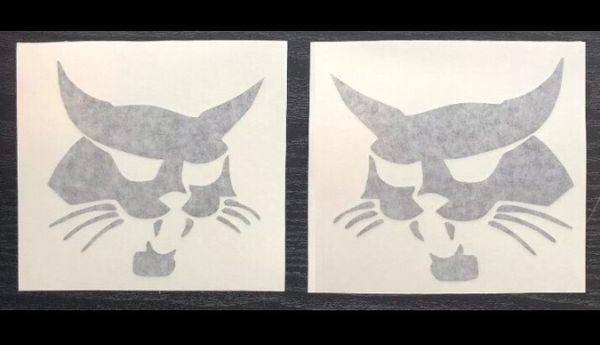 Bobcat Skid Steer Decals