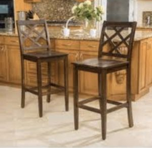 Brown mahogany barstools for Sale in Riverside, CA