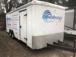 8x20 enclosed trailer for Sale in Boynton Beach, FL