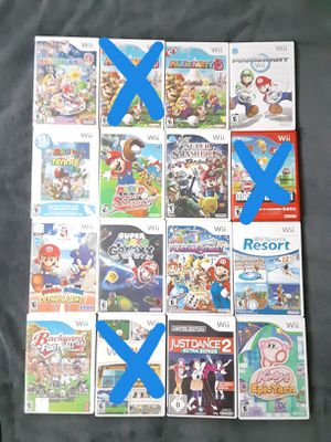 WII GAMES for Sale in Lakeland, FL