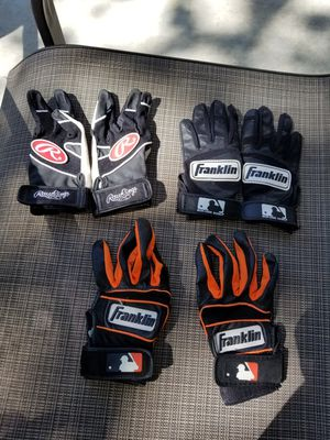 Baseball Batting Gloves Youth for Sale in Manteca, CA