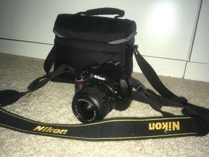 Nikkon D3300 SLR 18-55 mm lens included for Sale in Silver Spring, MD