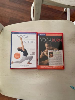 Yoga dvd lot for Sale in Fuquay-Varina, NC