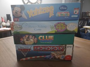 4 Board Games - Ages 4-5 for Sale in Jacksonville, FL