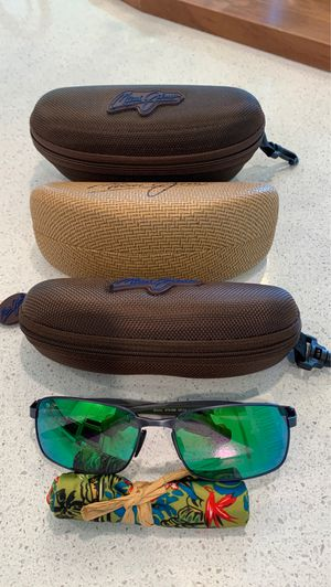 Brand New Maui Jim Shoal Sunglasses Green Lens for Sale in Cypress, TX