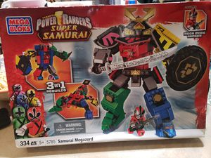 Mega Blocks Power Rangers Super Samurai for Sale in Tacoma, WA