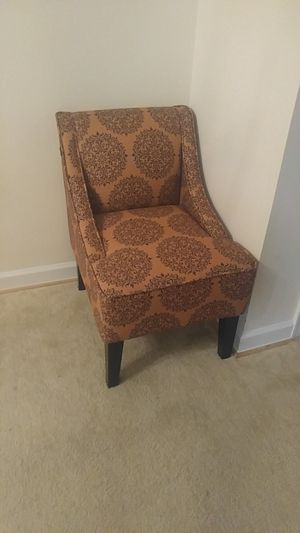 Dwell Home Marlow Accent Chair with Gabrielle Upholstery in Spice $120 for Sale in Arlington, VA