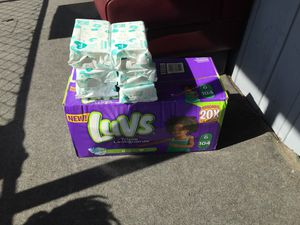 Diapers and wipes bundle for Sale in Durham, NC