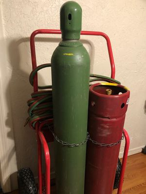 Very nice Welding, Cutting and Heating Torch Set for Sale in Albuquerque, NM