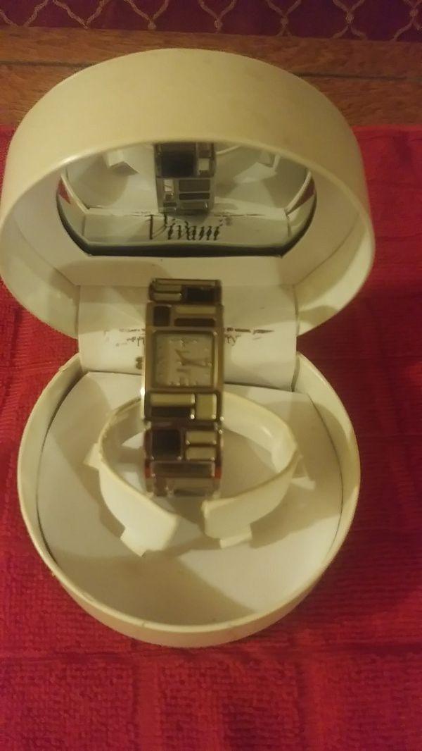 New ViVani Clamp Bracelet Watch