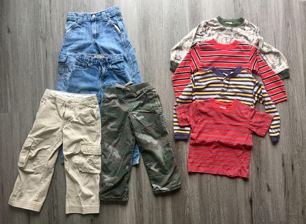 4T clothes 4 pants 4 shirts