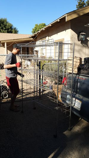 Foldable storage rack for Sale in Fresno, CA