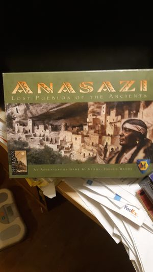 ANASAZI LOST PUEBLOS OF THE ANCIENTS BOARD GAME for Sale in Chicago, IL