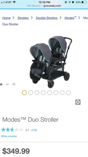 Graco double stroller for Sale in Woodlake, CA