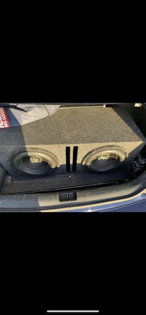 "12"" subwoofer with taramp amplifer for Sale in Brooklyn, NY"