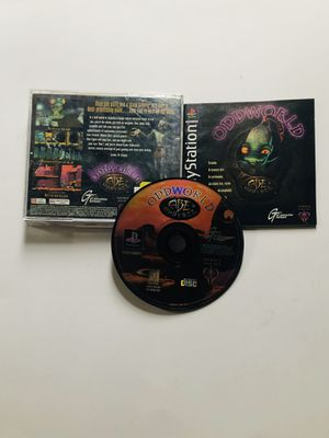 Oddworld Abe's odyssey PlayStation 1 Ps1 for Sale in Long Beach, CA