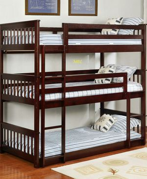 Triple Twin Bunk Bed by New Era for Sale in Houston, TX