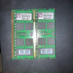 Kingston Kvr667d2s5k2 2GB for Sale in Fort Washington, PA