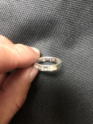 Authentic Tiffany 1837 Ring for Sale in Anaheim, CA