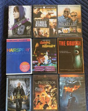 DVD/ Blu-ray/VHS/ for Sale in Stockton, CA