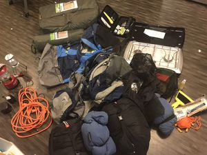 Camping haul for two with a dog - open to responsible offers for Sale in Denver, CO