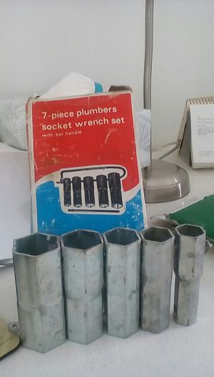 PLUMBERS SOCKET WRENCH SET for Sale in Miami Beach, FL