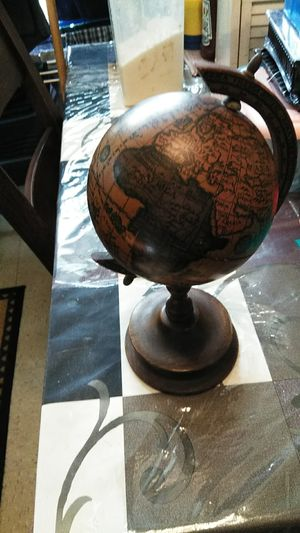 Old world antique table globe. for Sale in New York, NY