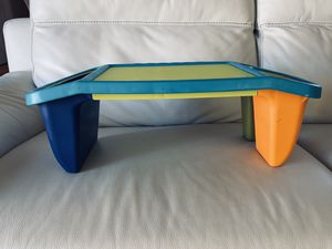 Folding Lap desk for kids with storage and matching markers for Sale in MONTE VISTA, CA