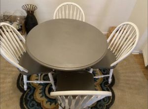 Gray and white kitchen table for Sale in Del Mar, CA